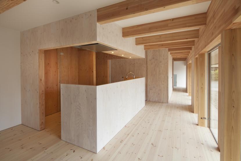武蔵増戸の家 / 郊外の庭家の部屋 ダイニングキッチン2