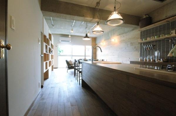再販リノベーションの部屋 キッチンカウンター(LDK)