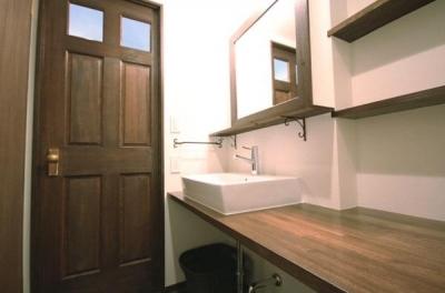 洗面室 (再販リノベーション)