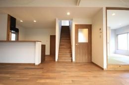 築40年の家リノベーション (LDK・和室)