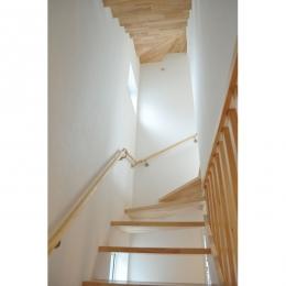 ロフトリビング (階段)