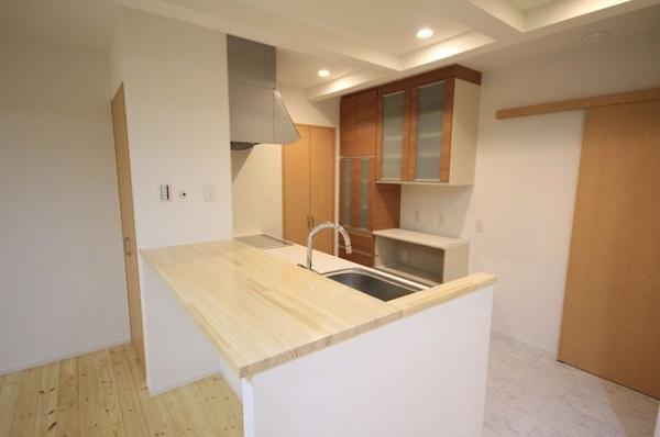 ロフトでつながる家の写真 キッチン