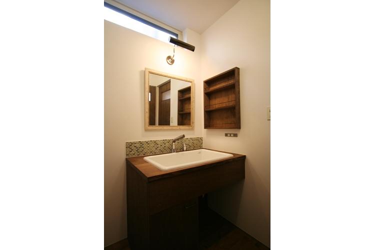 西堀の家-和モダンスタイル-の部屋 洗面所
