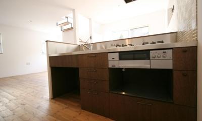 西堀の家-和モダンスタイル- (キッチン)