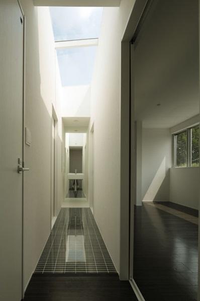 ベンチハウスの部屋 廊下