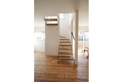 階段 (西堀の家-和モダンスタイル-)
