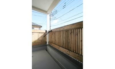 西堀の家-和モダンスタイル- (ベランダ)