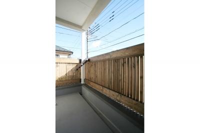 ベランダ (西堀の家-和モダンスタイル-)