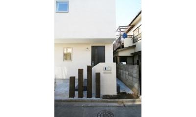 西堀の家-和モダンスタイル- (玄関)