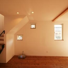 シンプルかわいい 古谷上の家 (玄関収納)
