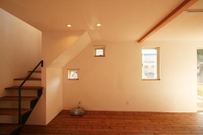 玄関収納 (シンプルかわいい 古谷上の家)