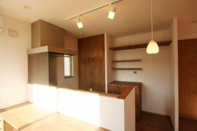 キッチン (シンプルかわいい 古谷上の家)