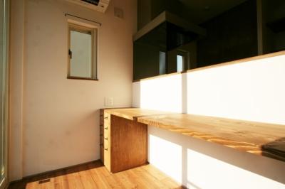 書斎 (シンプルかわいい 古谷上の家)