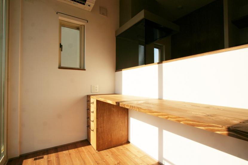 シンプルかわいい 古谷上の家の写真 書斎