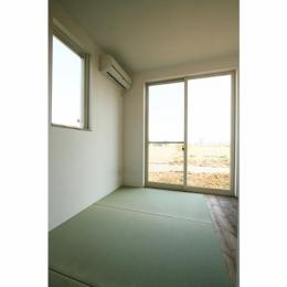 シンプルかわいい 古谷上の家 (和室)