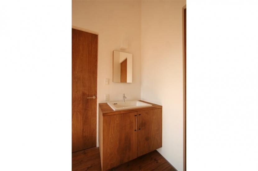 シンプルかわいい 古谷上の家の写真 洗面所