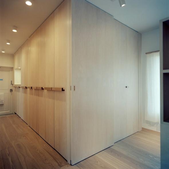 たまプラーザ団地リノベーションの部屋 廊下 2