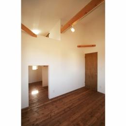 シンプルかわいい 古谷上の家 (吹き抜け部分)