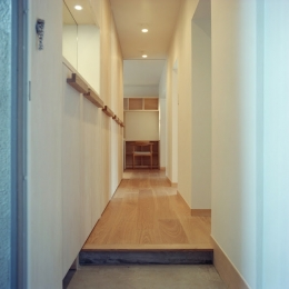 たまプラーザ団地リノベーション (玄関)