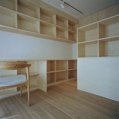 書斎 3 (たまプラーザ団地リノベーション)