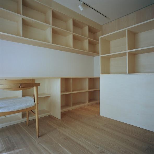 たまプラーザ団地リノベーションの部屋 書斎 3