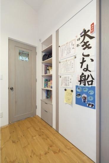 子供部屋事例:子供部屋(ほっこりスタイリッシュ 中川の家)