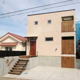 岸町の家 -oneself style- (外観)