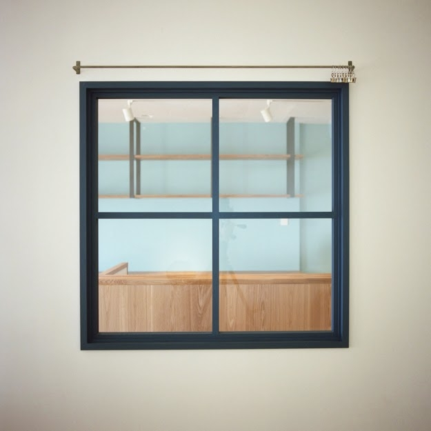 東陽町リノベーションの部屋 室内窓