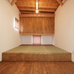 岸町の家 -oneself style- (小上がり畳スペースのある部屋(畳部分))