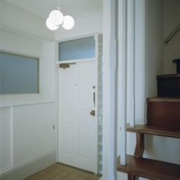 鵜の木リノベーション (玄関)