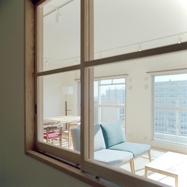 新松戸リノベーションの部屋 室内窓