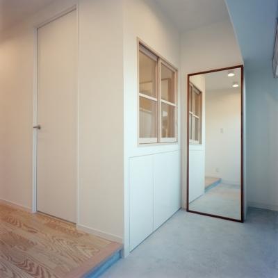 玄関 2 (新松戸リノベーション)