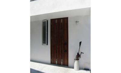 つなぐ家 (玄関)