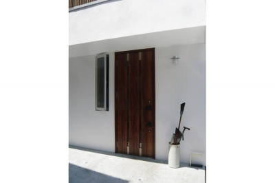 玄関 (つなぐ家)