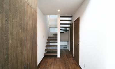 スクエアハウス (階段)