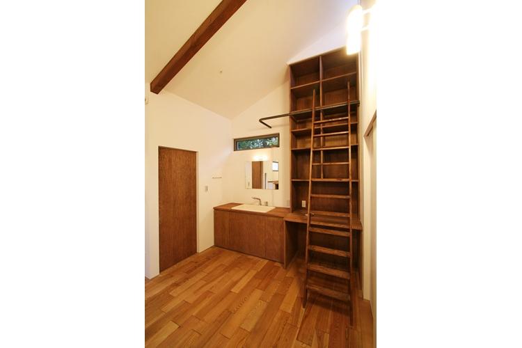 可能性の家 芝の家の部屋 大容量収納