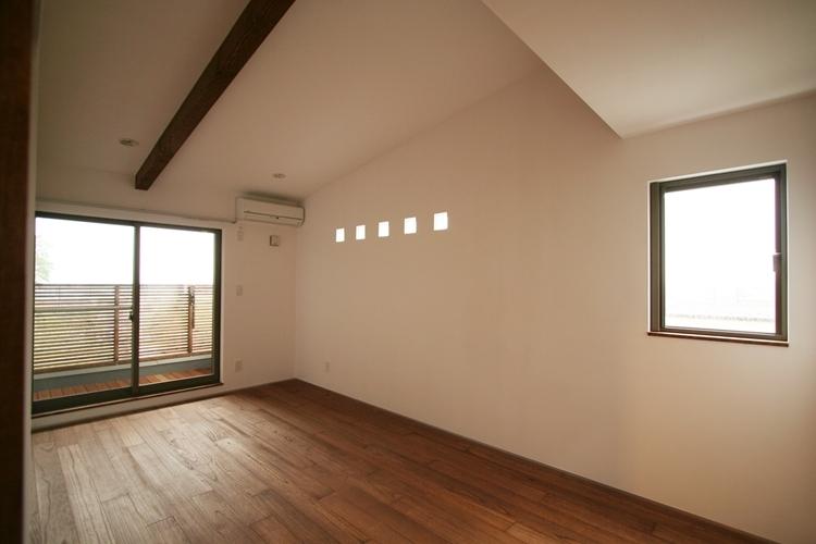 可能性の家 芝の家の部屋 ベッドルーム