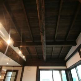 創る・育てる・楽しむ住まい 東大宮の家 (天井)