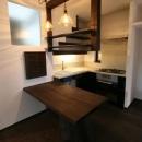 創る・育てる・楽しむ住まい 東大宮の家の写真 キッチン