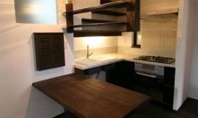 創る・育てる・楽しむ住まい 東大宮の家 (キッチン)