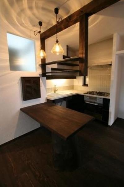 キッチン (創る・育てる・楽しむ住まい 東大宮の家)