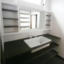 創る・育てる・楽しむ住まい 東大宮の家の写真 洗面所