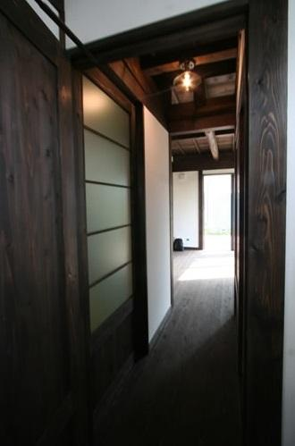 創る・育てる・楽しむ住まい 東大宮の家の写真 廊下