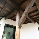 創る・育てる・楽しむ住まい 東大宮の家の写真 柱(外)