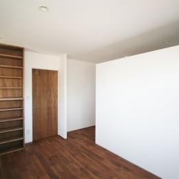 シンプルに暮らす 三室の家 (ベッドルーム)