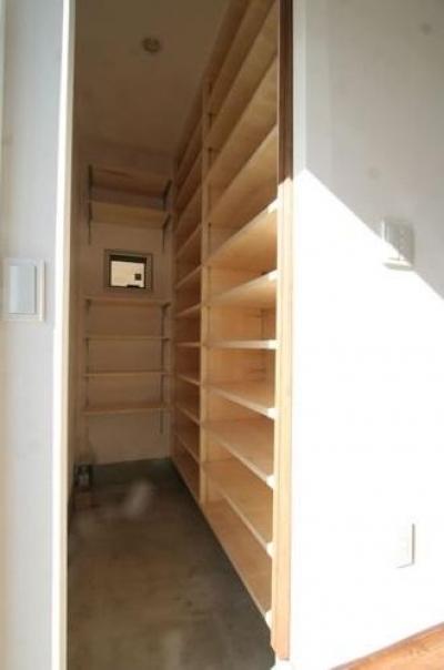 収納 (シンプルに暮らす 三室の家)