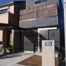 シンプルに暮らす 三室の家の写真 外観(正面)