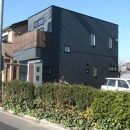 シンプルに暮らす 三室の家の写真 外観(側面)