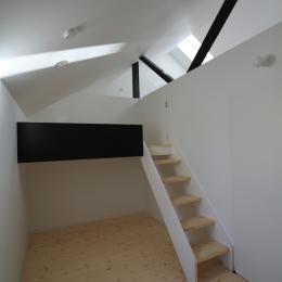 仙台 SOHOの家 OUCHI-18 (ロフトのような子供室)