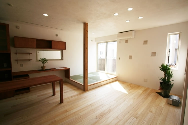 ミックススタイル 上青木の家の部屋 リビング